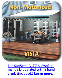 SunSetter Patio Awnings - Patio Awnings & Roof Brackets