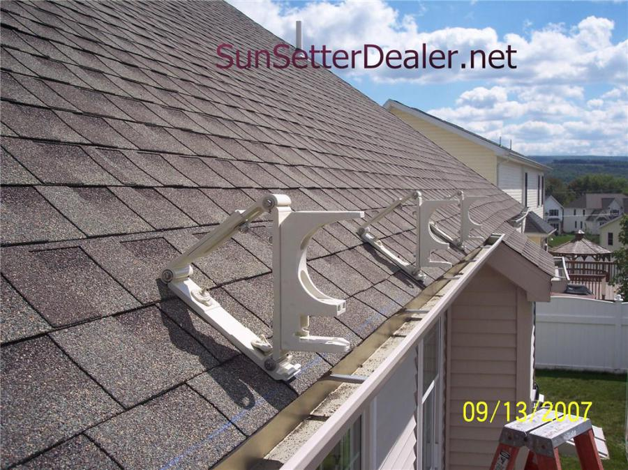 Sunsetter Roof Brackets Patio Awning Roof Brackets